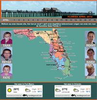 Fotolink naar het reisverslag van Florida 2012.