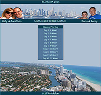 Fotolink naar het reisverslag van Florida maart 2013.