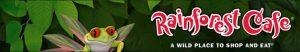 Link naar homepage van het Rainforest Café